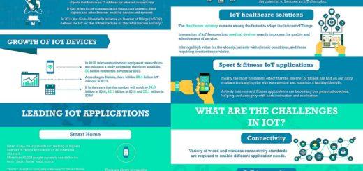 Infografía - El Internet de las Cosas 2017: Crecimiento y Cambios