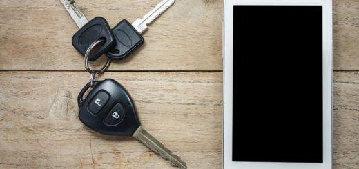 llave digital estándar para el coche