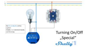 Shelly 1 - Esquemas de conexión 02