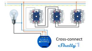 Shelly 1 - Esquemas de conexión 05