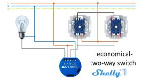 Shelly 1 - Esquemas de conexión 06